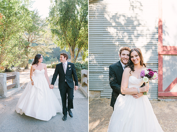 romantic ranch wedding | Kirsten Julia Photography | Glamour & Grace