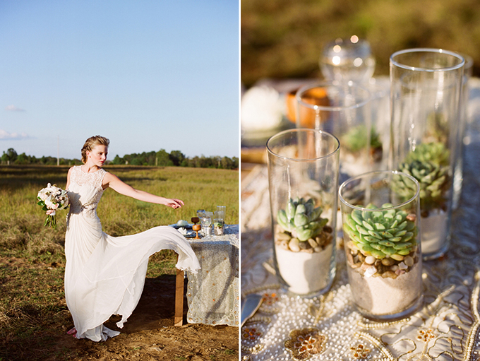 Khaleesi Game of Thrones wedding inspiration | Jenna Henderson, Photographer | Glamour & Grace