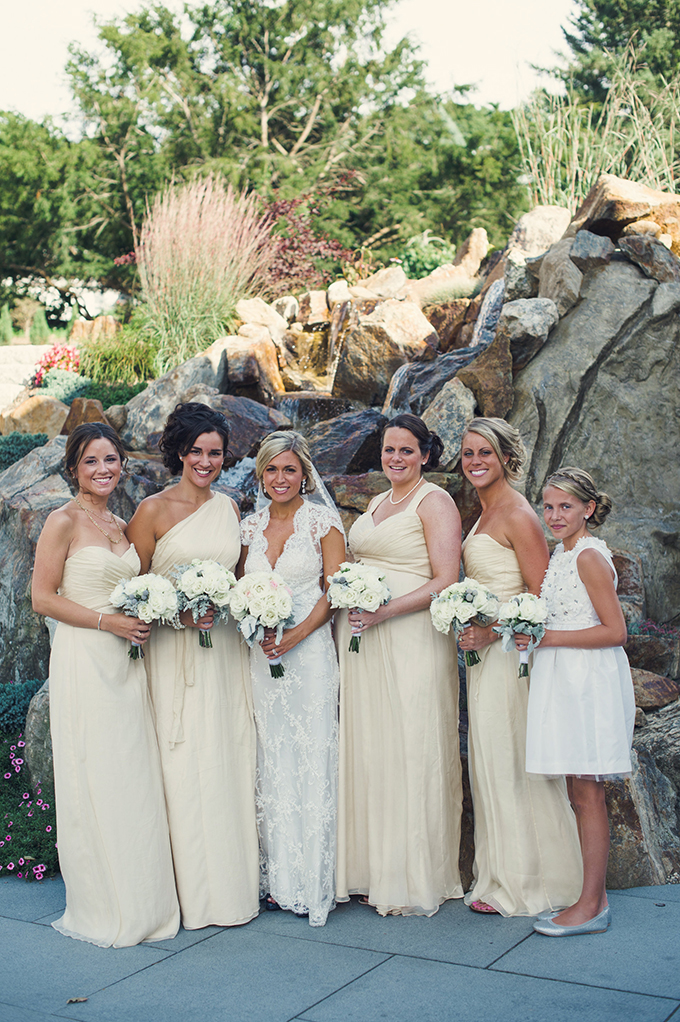 butter yellow bridesmaids | Katie Slater Photography | Glamour & Grace