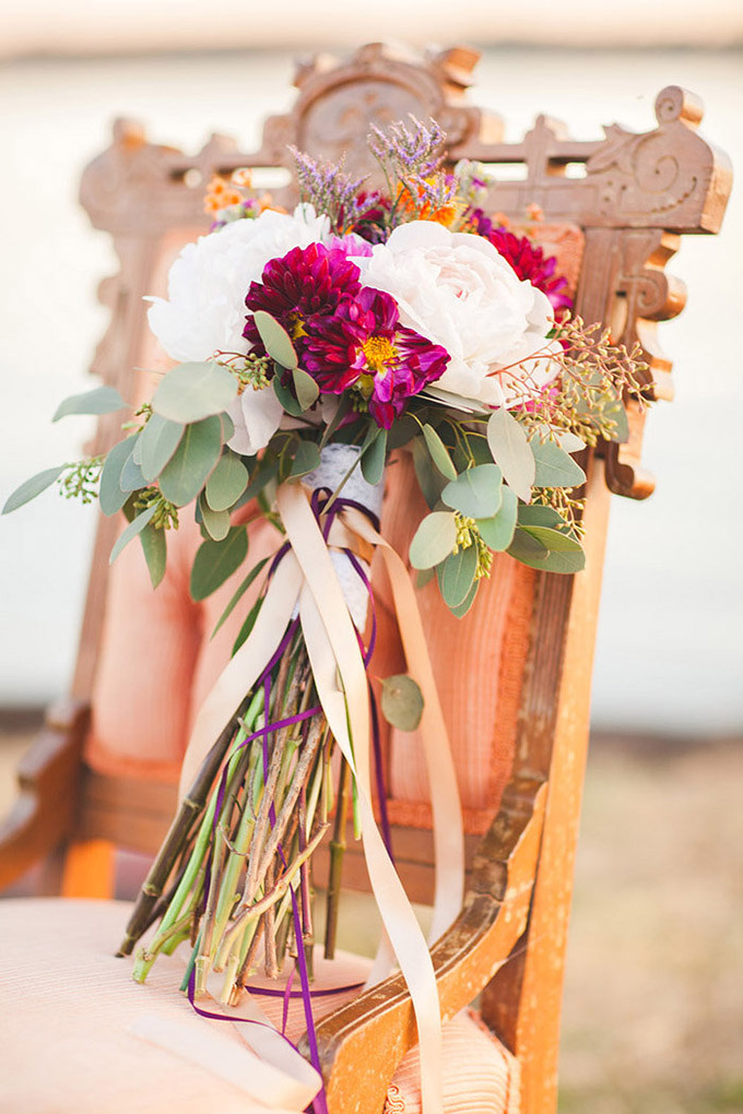 bohemian bouquet | Laura Ann Miller Photography | Glamour & Grace
