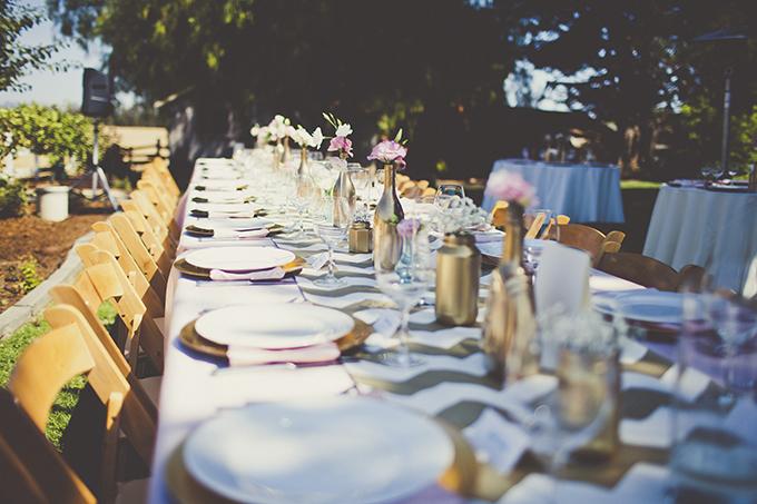 glam backyard wedding | Sarah Kathleen | Glamour & Grace