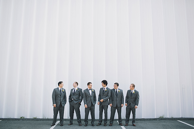 gray groomsmen | Brooke Courtney Photography | Glamour & Grace