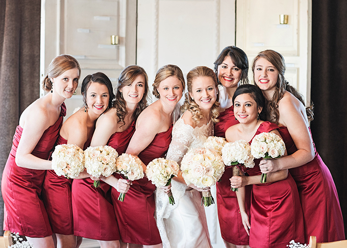 handmade red and gold wedding   Miranda Marrs Photography   Glamour & Grace