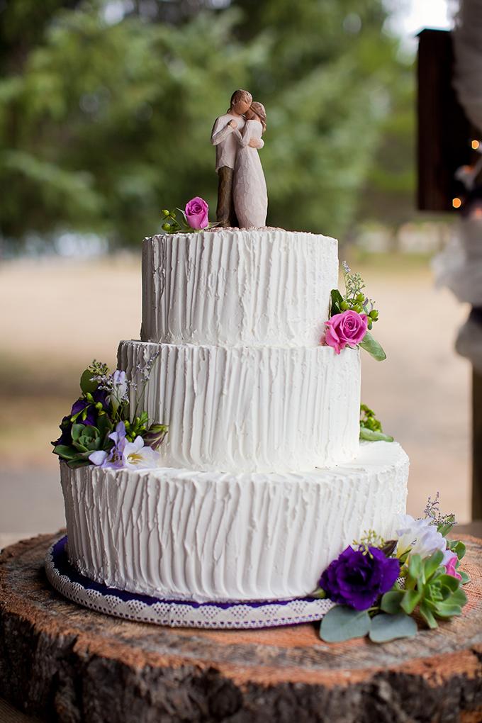 rustic cake | Jamie Zanotti Photography | Glamour & Grace