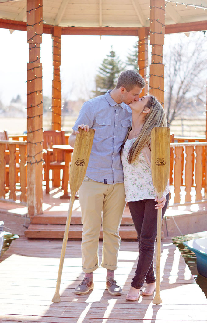 rustic spring engagement session | Amber Shaw Photography | Glamour & Grace
