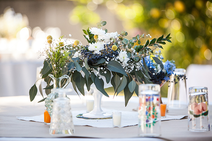 handmade centerpieces | Lovers of Love | Glamour & Grace