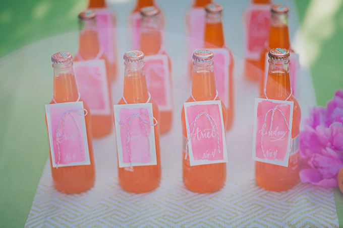 escort soda bottles | Alexandra Wallace | Glamour & Grace
