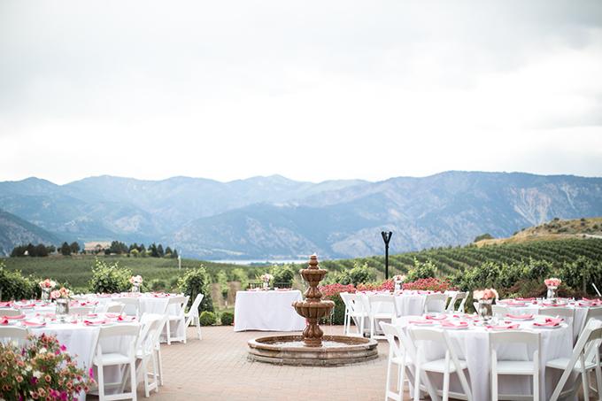 pink vineyard wedding | Jacquelynn Brynn Photography | Glamour & Grace
