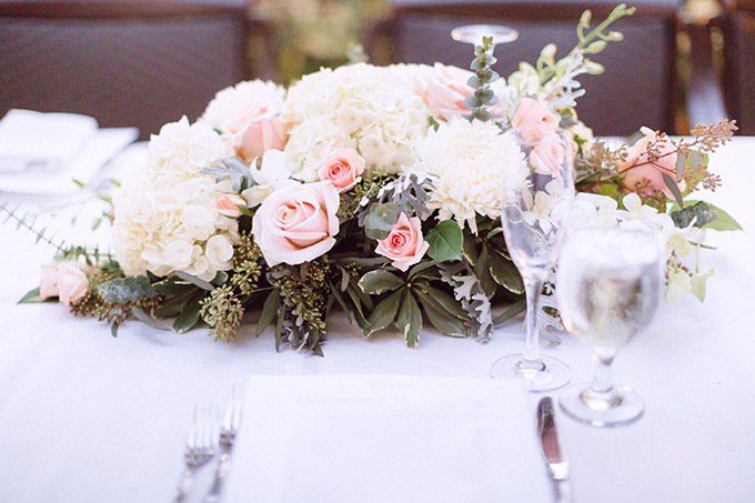 romantic pink centerpieces | Hunter Ryan Photo | Glamour & Grace