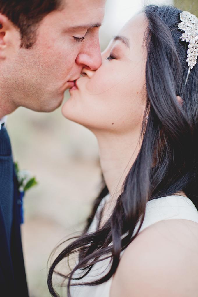 romantic desert wedding | Elyse Hall Photography | Glamour & Grace