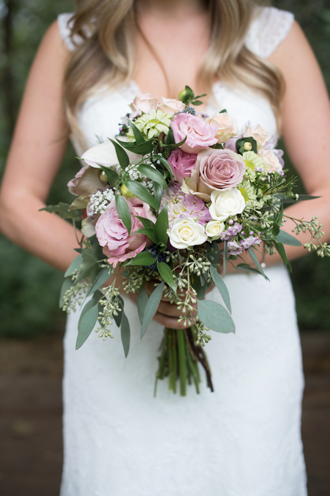 romantic pink bouquet | Christie Graham Photography | Glamour & Grace