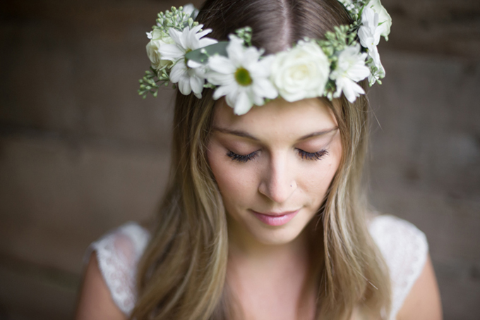 flower crown | Christie Graham Photography | Glamour & Grace