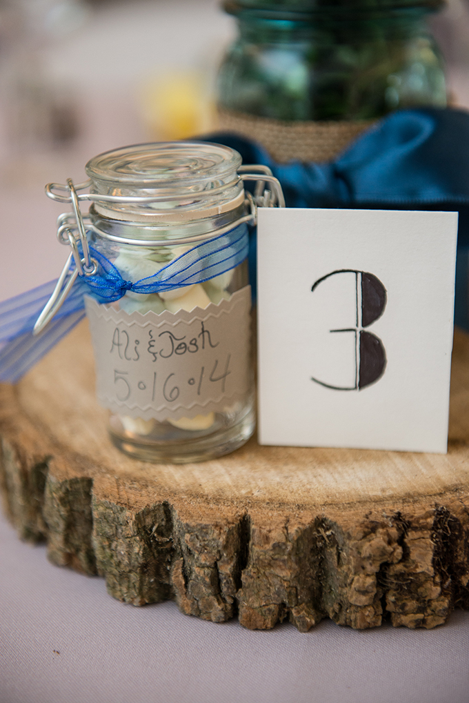 DIY table numbers | BG Productions Photography | Glamour & Grace