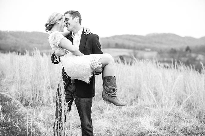 Pippin Hill Farm engagement | Nikki Santerre Photography | Glamour & Grace