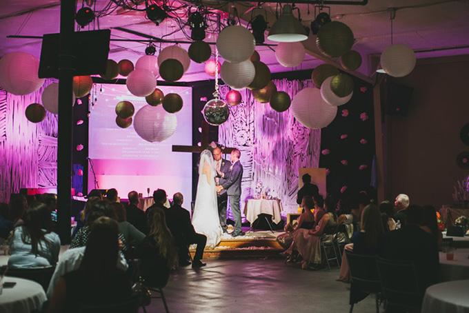 intimate evening DIY wedding | Plum Jam Photography | Glamour & Grace