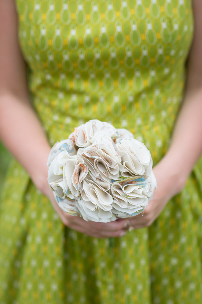 DIY fabric bouquet | Maison Meredith Photography | Glamour & Grace