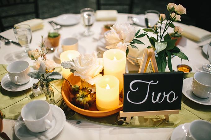 romantic centerpieces | Tamara Lockwood Photography | Glamour & Grace
