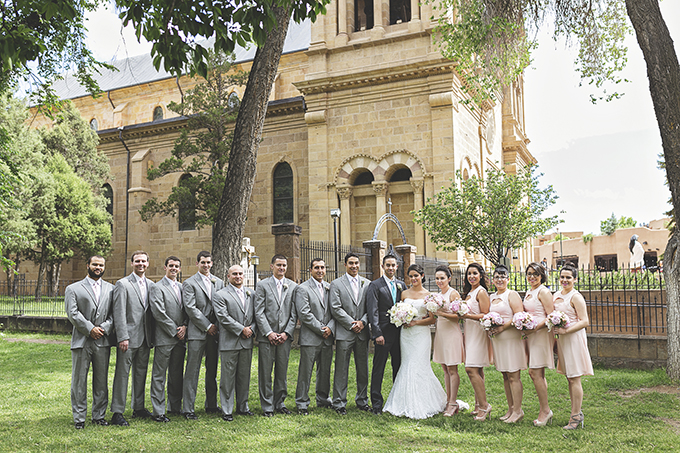 pink Santa Fe wedding | Liz Anne Photography | Glamour & Grace