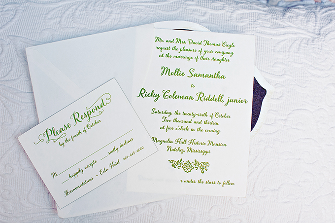calligraphy invitations | Mark Eric Weddings | Glamour & Grace