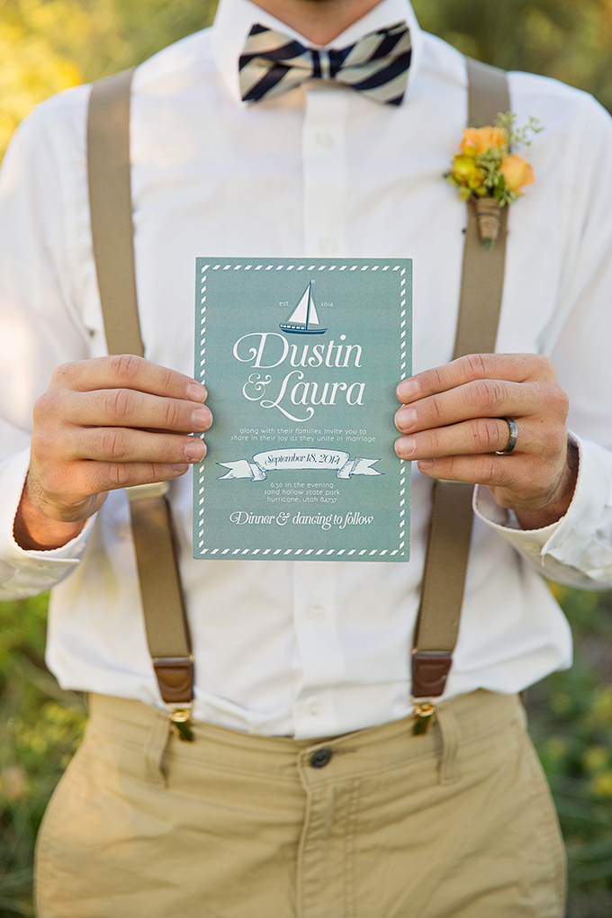 nautical invitation | Tara H. Photography | Glamour & Grace