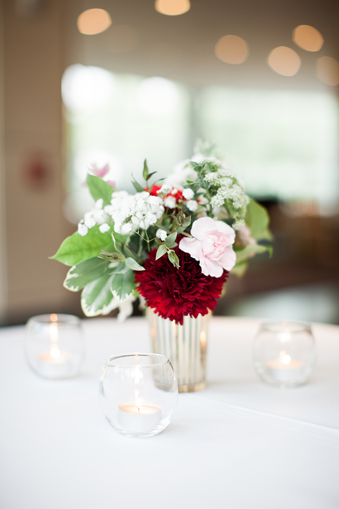pink and red museum wedding | Cory + Jackie | Glamour & Grace