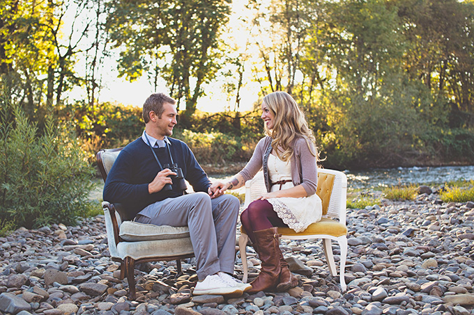 Wes Anderson engagement | Cat Dossett I Take Photos | Glamour & Grace