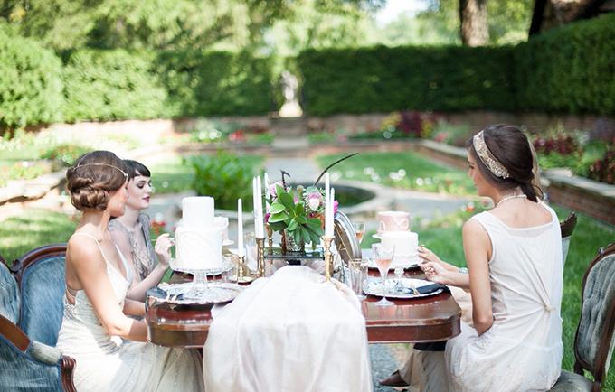 art deco bridal shower | Jessica Maida Photography | Glamour & Grace