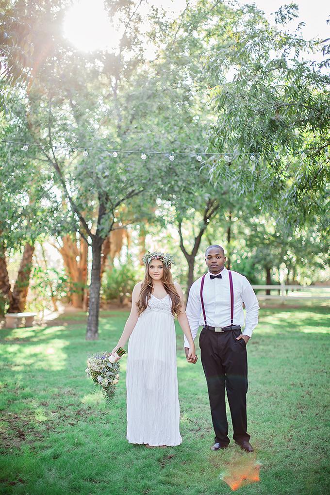 boho chic bridal portraits | Jessica Q Photography | Glamour & Grace