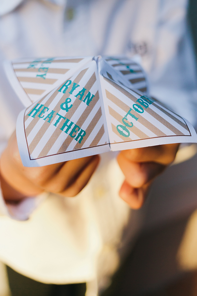 custom cootie catcher   Jessica Connery Photography   Glamour & Grace