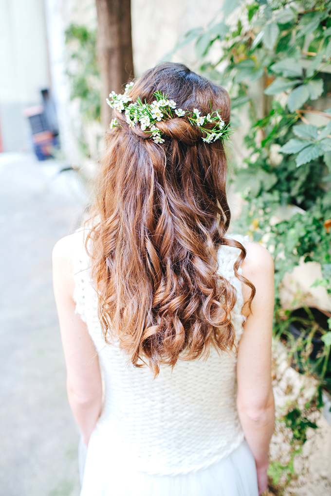 floral crown | Les Amis Photo | Glamour & Grace