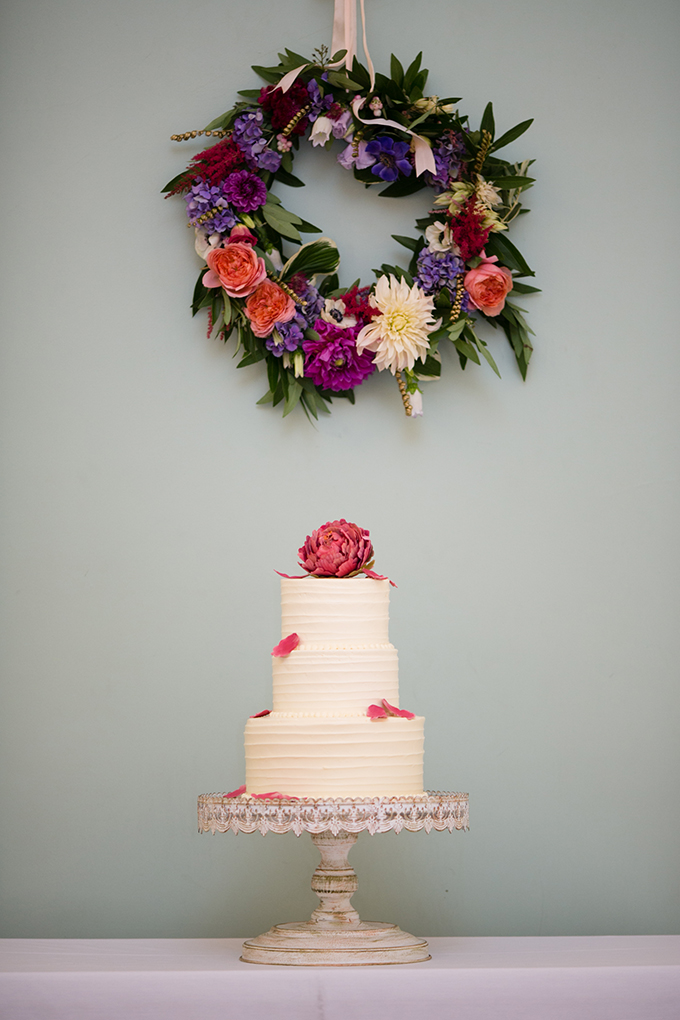 pink peony cake   Peach Plum Pear Photo   Glamour & Grace