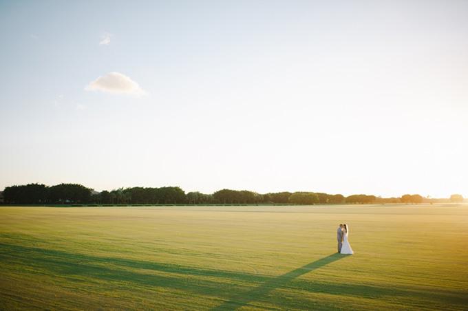 intimate peach garden wedding | Shea Christine Photography | Glamour & Grace