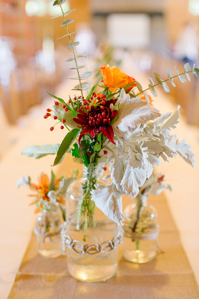 rustic fall centerpieces | Taylor Rae Photography | Glamour & Grace