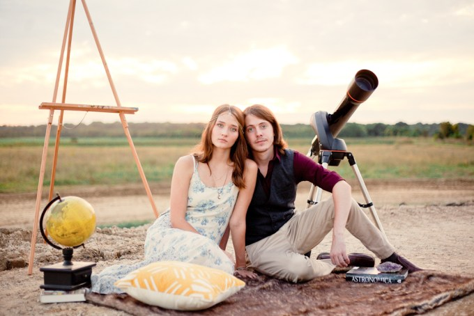 bohemian engagement session | Elsy Photography | Glamour & Grace