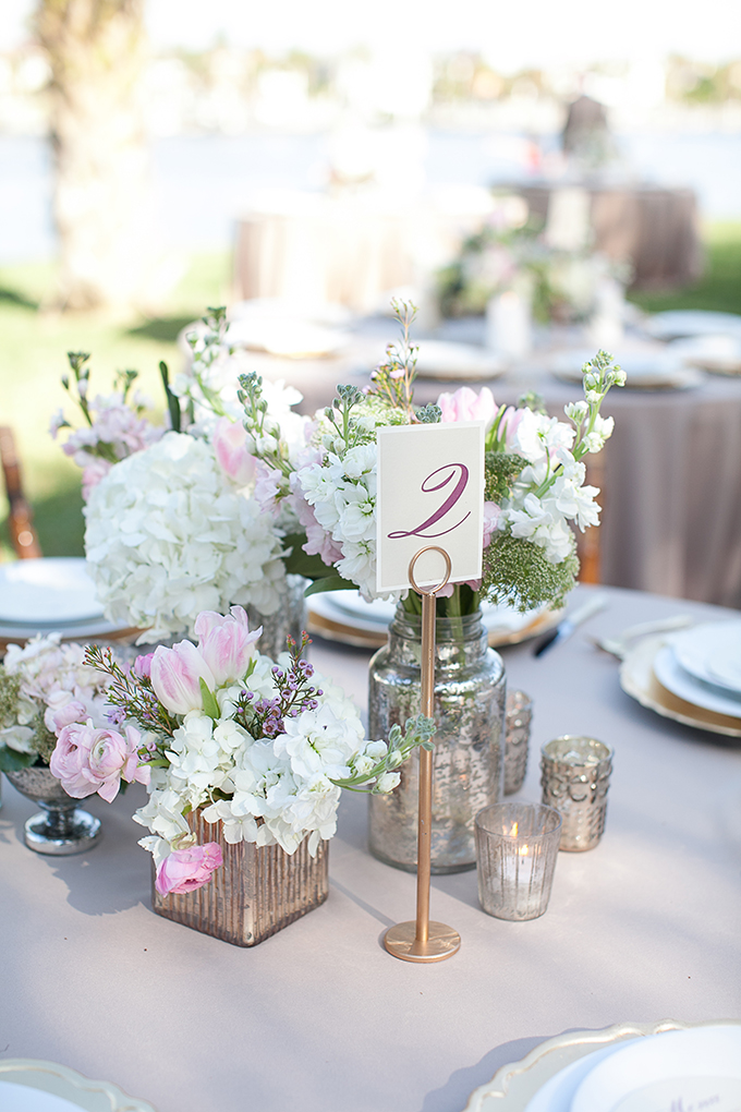 romantic purple centerpiece | Roohi Photography | Glamour & Grace