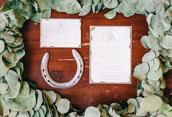 Derby inspired invitation | Shalese Danielle Photography | Glamour & Grace