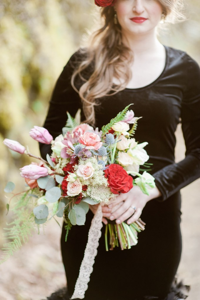 pink and red bouquet | Christa-Taylor Photography | Glamour & Grace