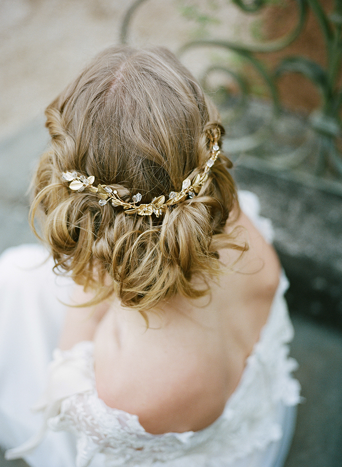 romantic bridal hair | Archetype | Glamour & Grace