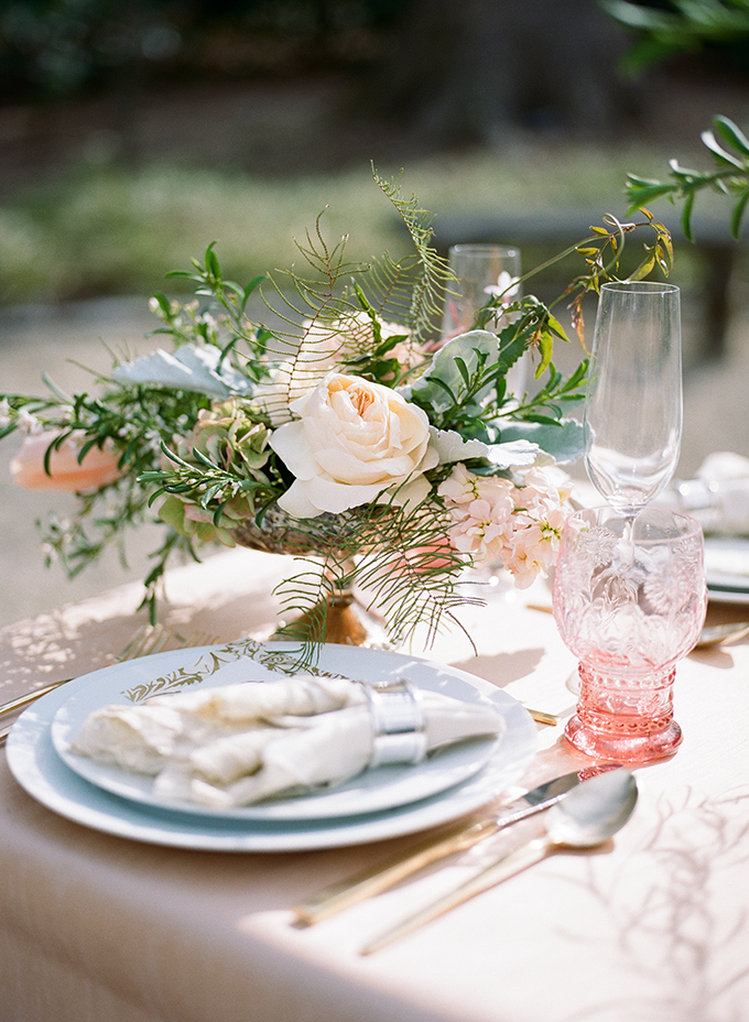 romantic vintage wedding inspiration | Archetype | Glamour & Grace
