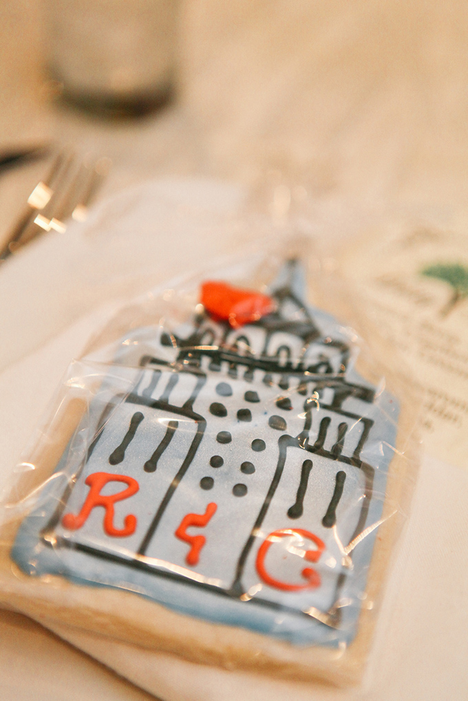NYC cookie favors | Samantha Lauren Photographie | Glamour & Grace