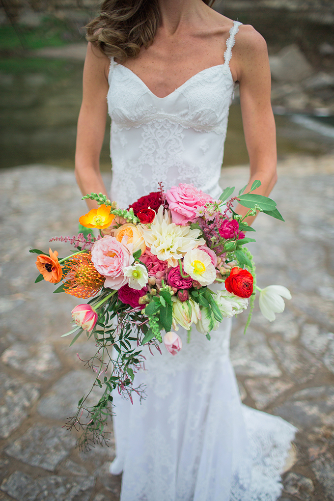 colorful bouquet | The Bird & The Bear | Glamour & Grace