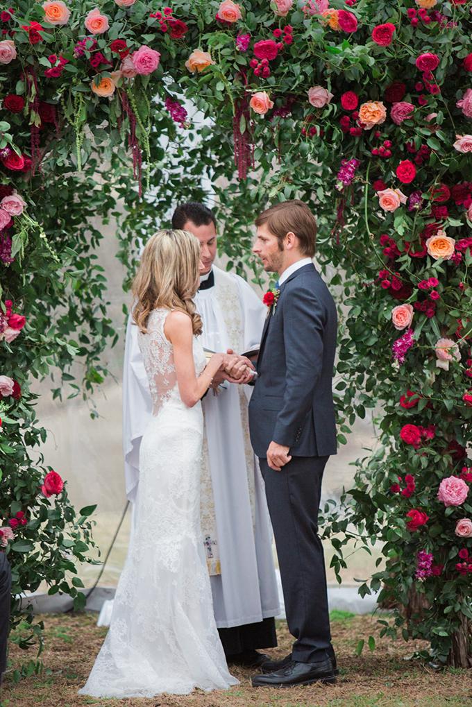 romantic floral wedding | The Bird & The Bear | Glamour & Grace