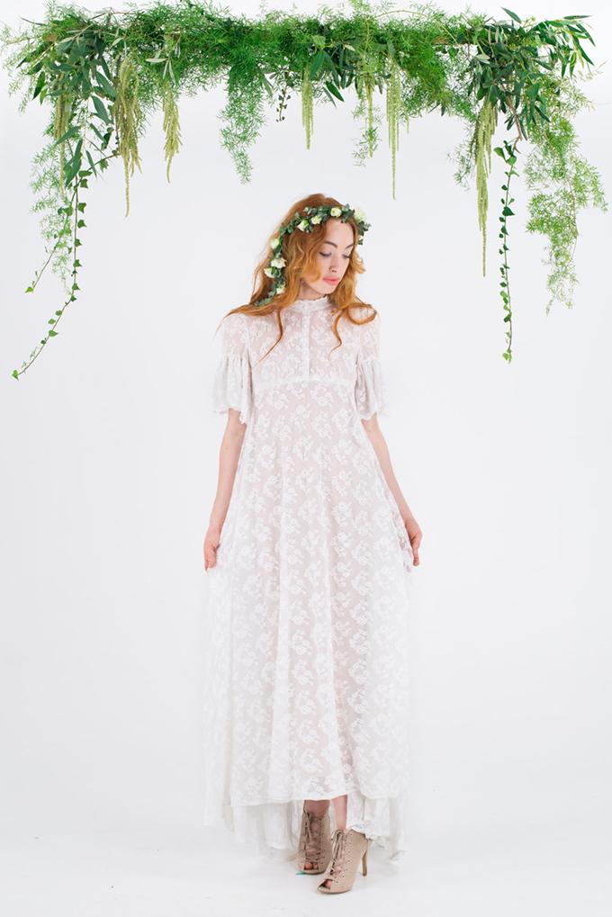 vintage wedding dress | Glamour & Grace