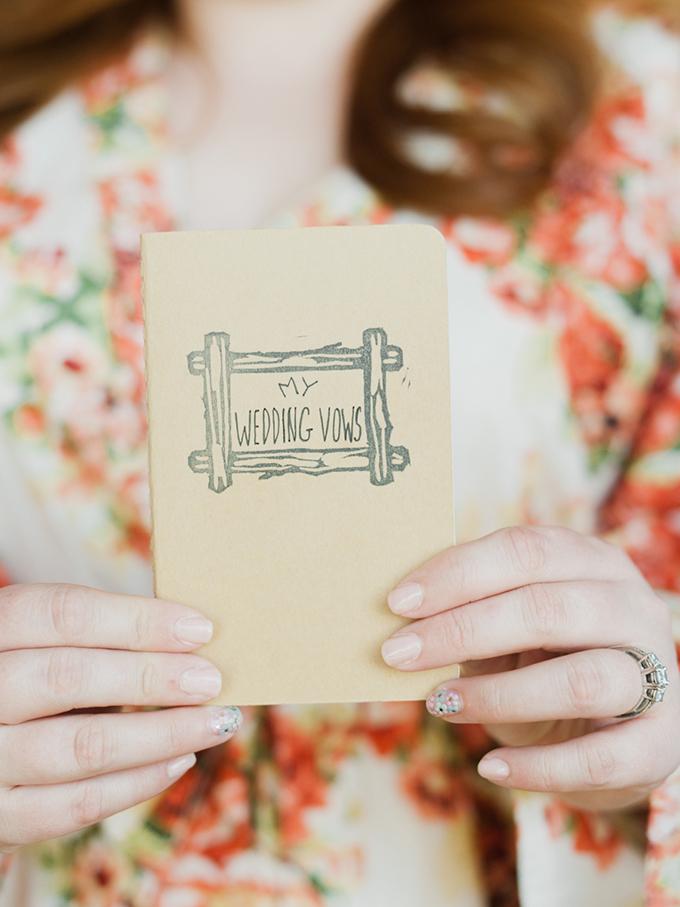my wedding vows | Merari Photography | Glamour & Grace