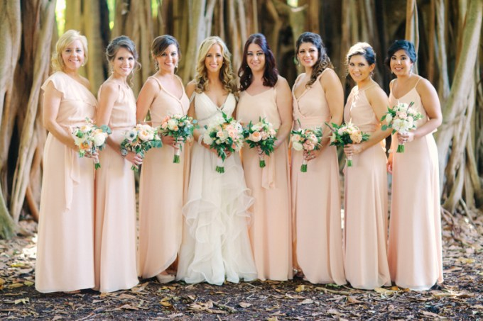 Joanna August bridesamaids | Binaryflips Photography | Glamour & Grace