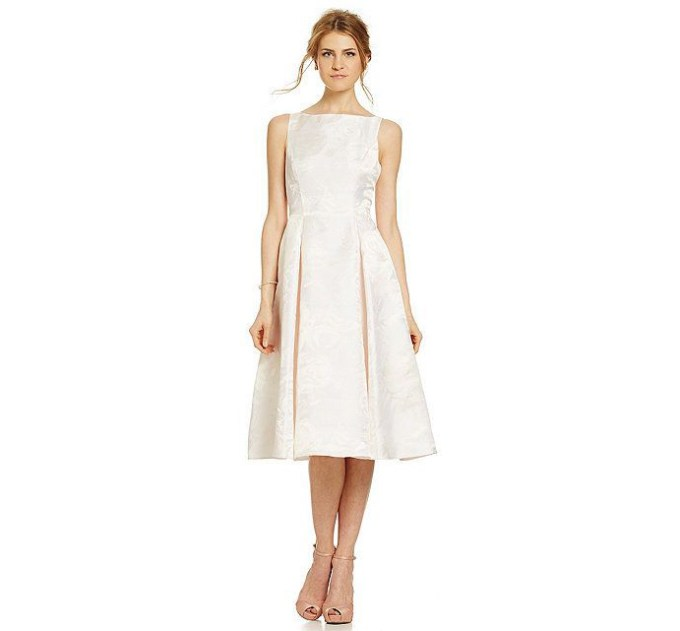 tea length dress | Adrianna Papell