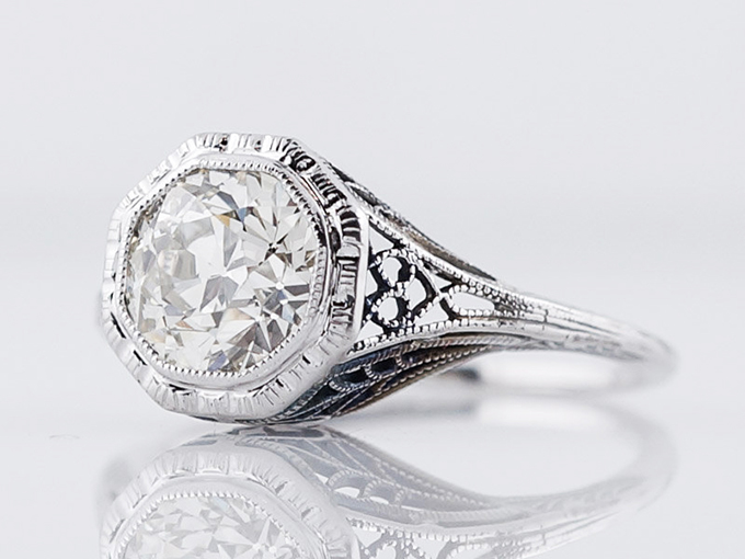 10 Vintage Engagement Rings for You to Fall For   Glamour