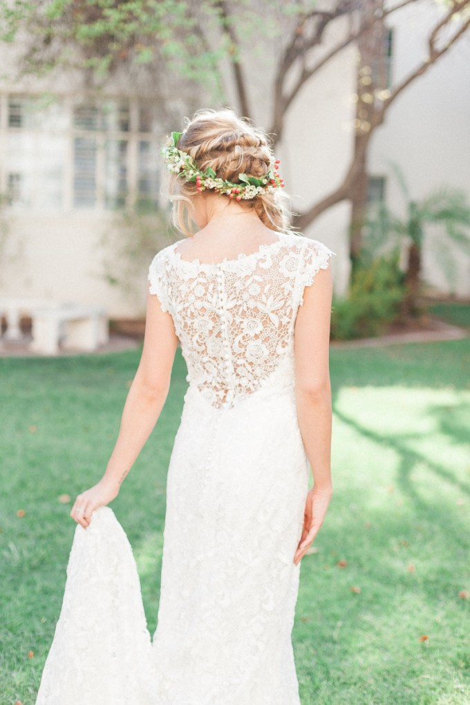 lace back gown | April Maura Photography | Glamour & Grace