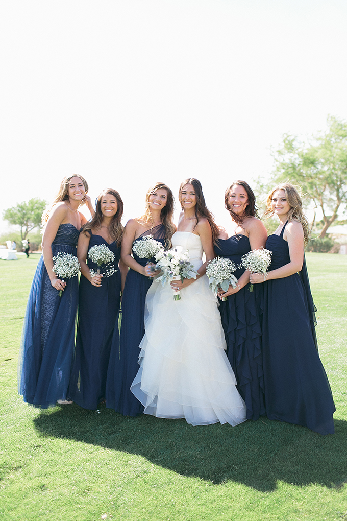blue bridesmaids | Meg Ruth Photo | Glamour & Grace