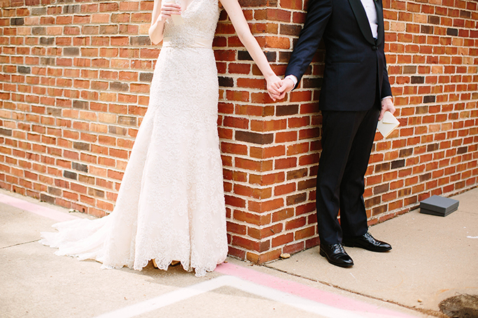 romantic spring garden wedding | Michele Shore Photography | Glamour & Grace